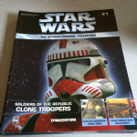 DeAgostini Star Wars figurine collection Clone Troopers magazine #21